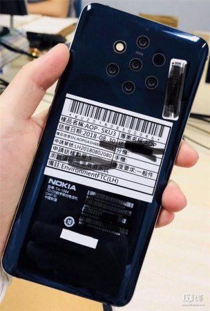Nokia 10 avec 5 capteurs photo