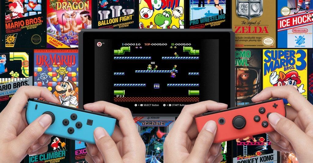 Nintendo Switch Online - NES Classic games