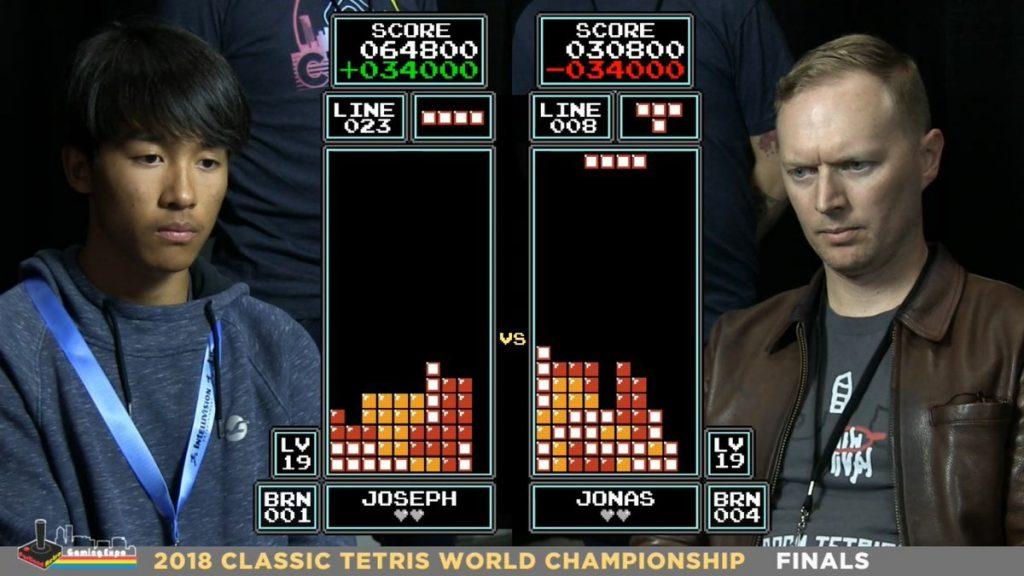 Joseph Saelee devient champion du monde de Tetris