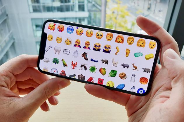 emojis sur iOS 12.1