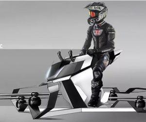 Hoversurf S3 : la moto volante