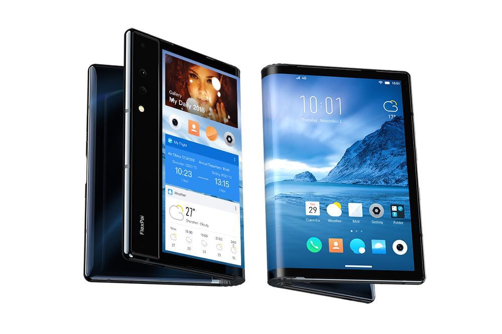 Flexpai - Premier smartphone pliable de Royole