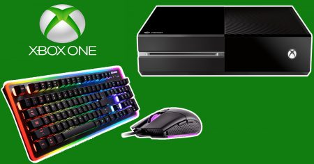 Microsoft Xbox Clavier et Souris
