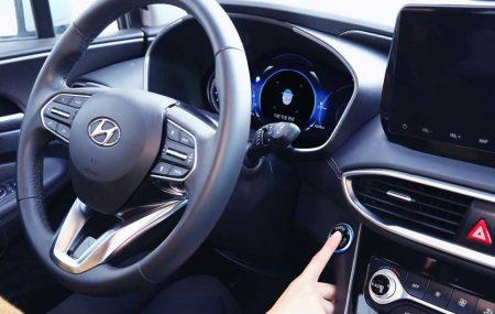 Hyundai - Premier véhicule avec lecteurs d'empreintes