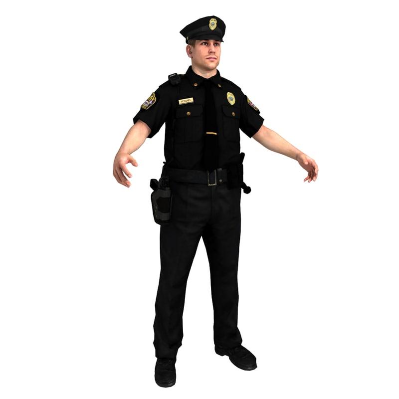 Police - Impression 3D