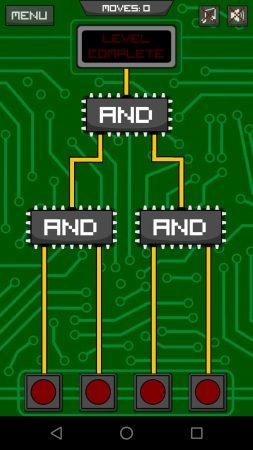 Circuit Scramble niveau 1