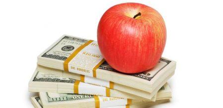 Bénéfices Apple