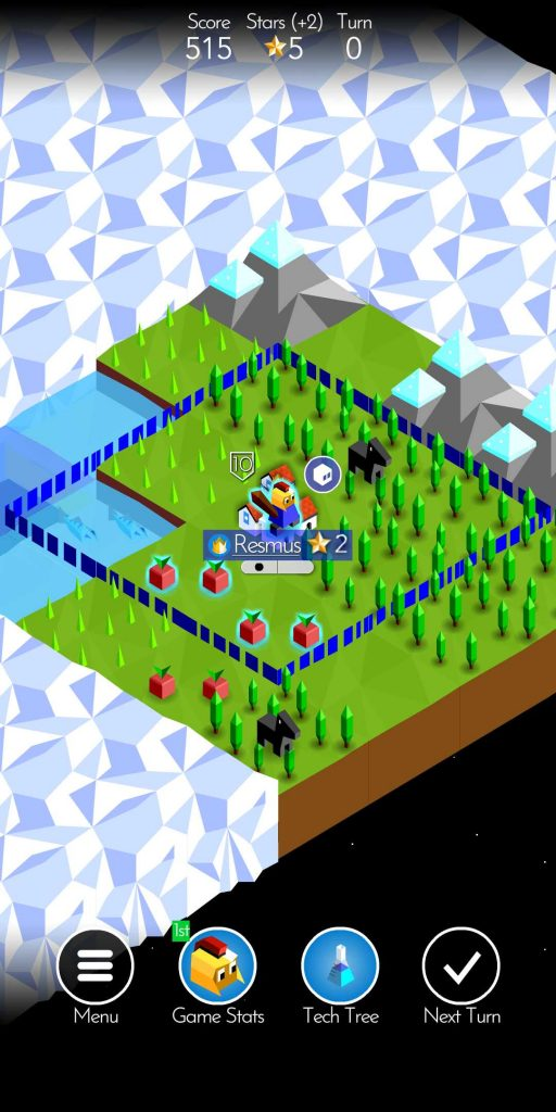 The Battle of Polytopia chef de tribu