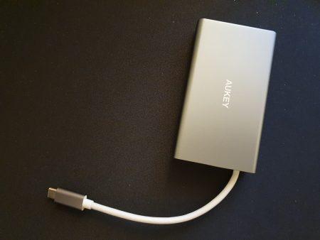 Adaptateur Aukey USB C